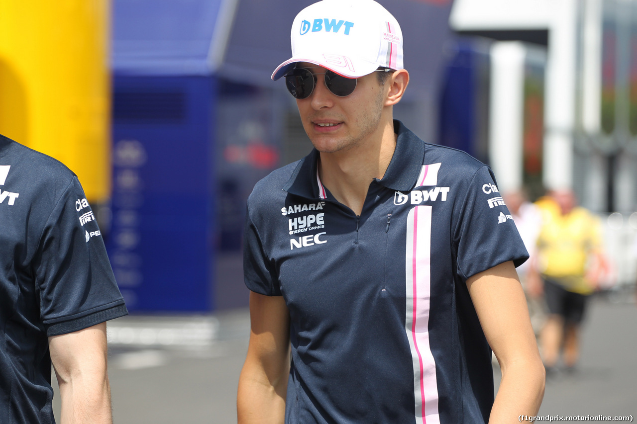 GP FRANCIA, 23.06.2018- Esteban Ocon (FRA) Sahara Force India F1 VJM11