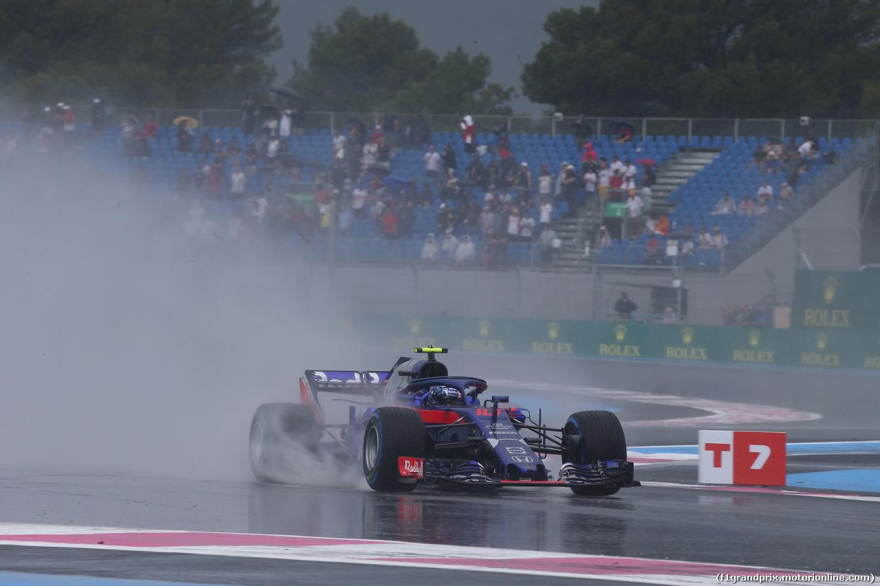 GP FRANCIA, 23.06.2018- Prove Libere 3,  Pierre Gasly (FRA) Scuderia Toro Rosso STR13