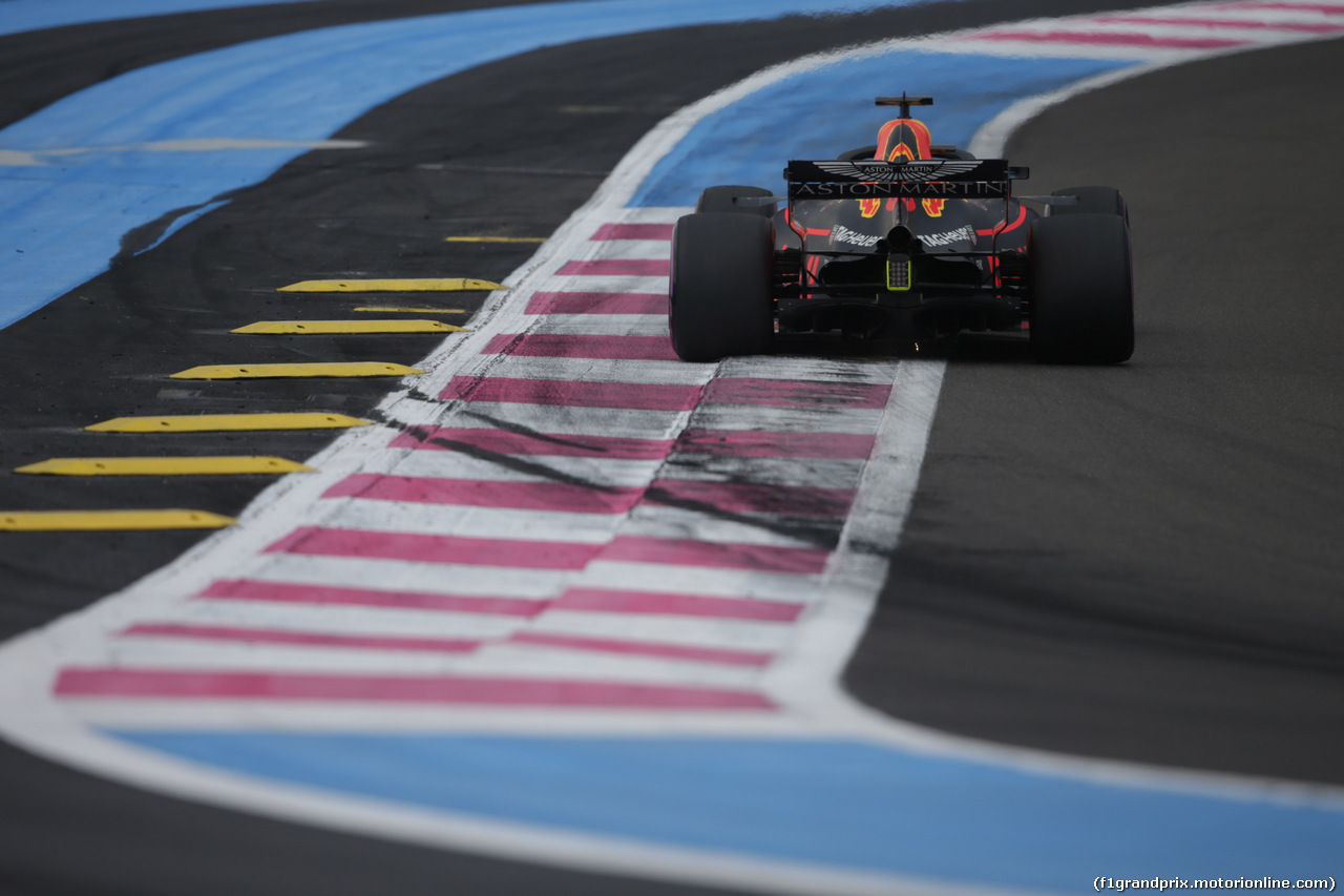 GP FRANCIA, 23.06.2018- Qualifiche, Daniel Ricciardo (AUS) Red Bull Racing RB14