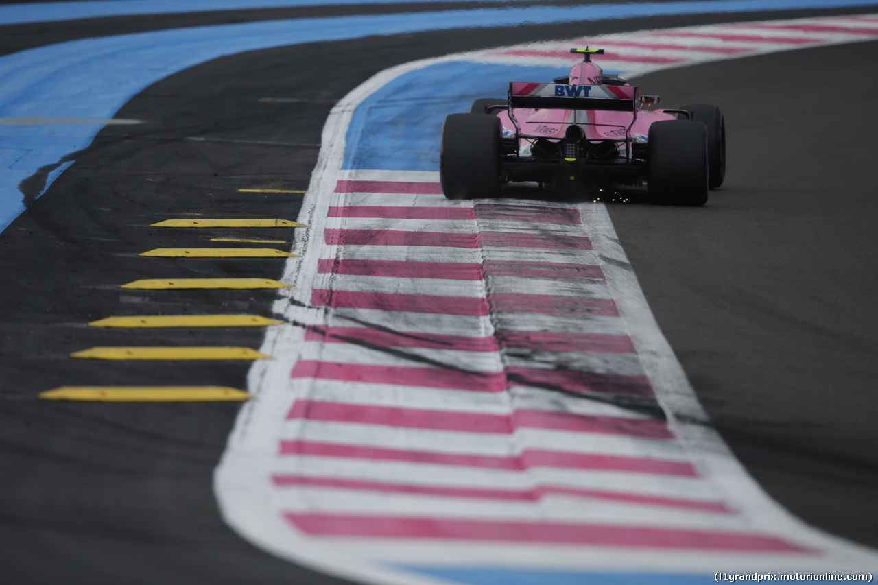 GP FRANCIA, 23.06.2018- Qualifiche, Esteban Ocon (FRA) Sahara Force India F1 VJM11