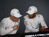 GP FRANCIA, 23.06.2018- after Qualifiche Official Fia press conference, L to R Valtteri Bottas (FIN) Mercedes AMG F1 W09, Lewis Hamilton (GBR) Mercedes AMG F1 W09
