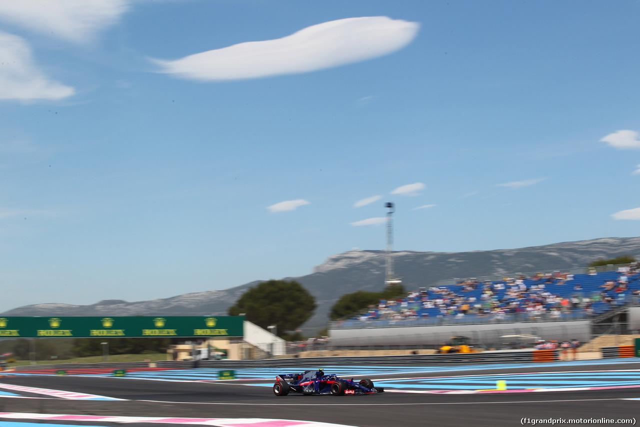 GP FRANCIA, 22.06.2018- Prove Libere 1, Pierre Gasly (FRA) Scuderia Toro Rosso STR13