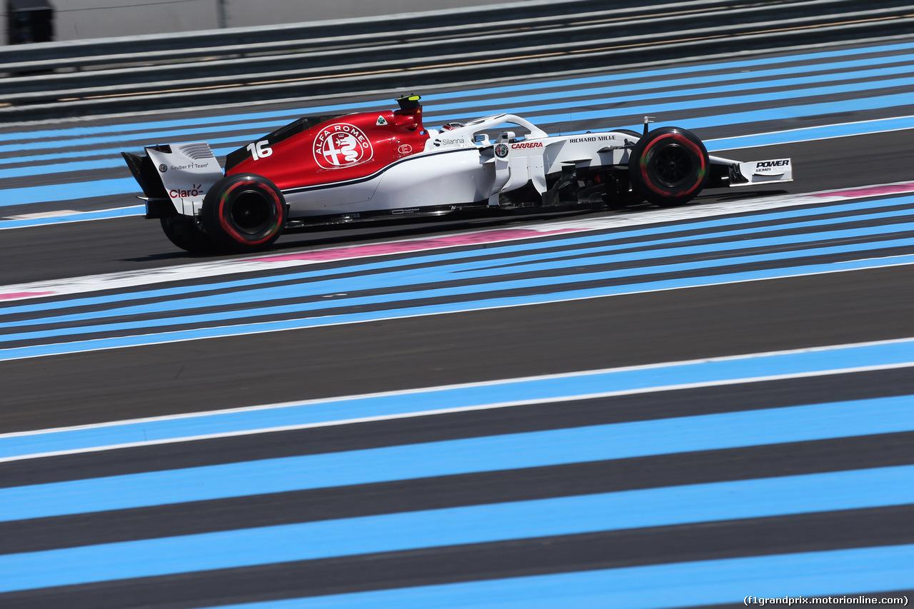 GP FRANCIA, 22.06.2018- Prove Libere 1, Charles Leclerc (GER) Alfa Romeo Sauber C37