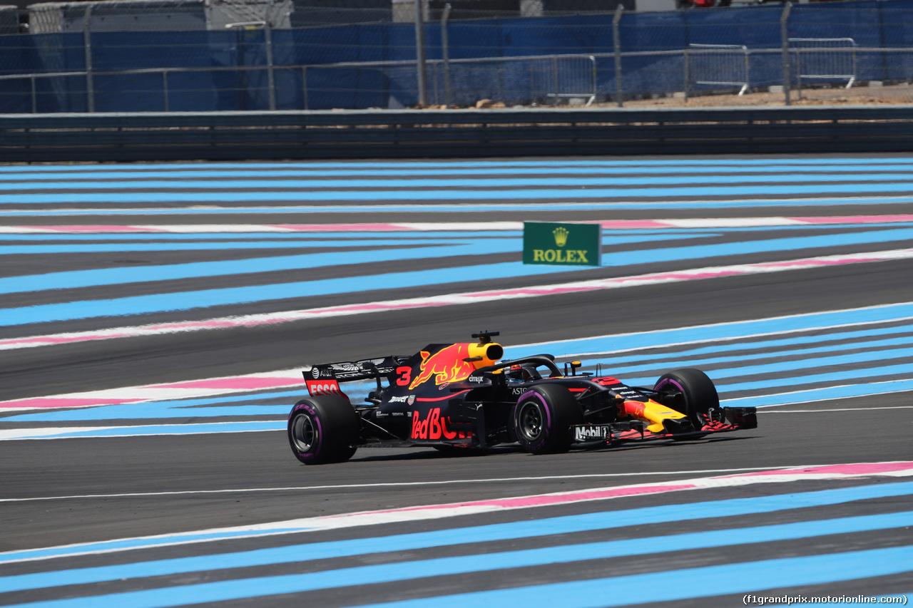 GP FRANCIA, 22.06.2018- Prove Libere 1, Daniel Ricciardo (AUS) Red Bull Racing RB14