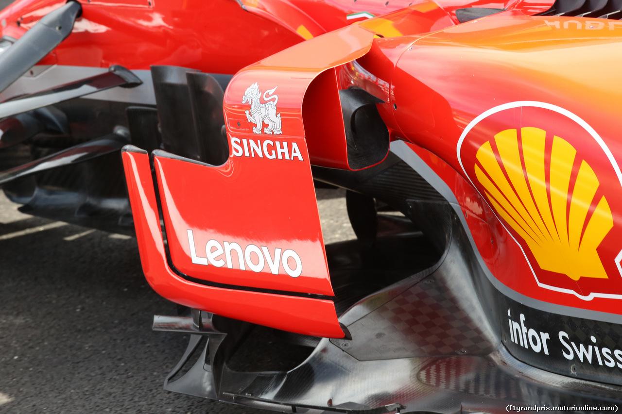 GP FRANCIA, 22.06.2018- Ferrari SF71H Tech Detail