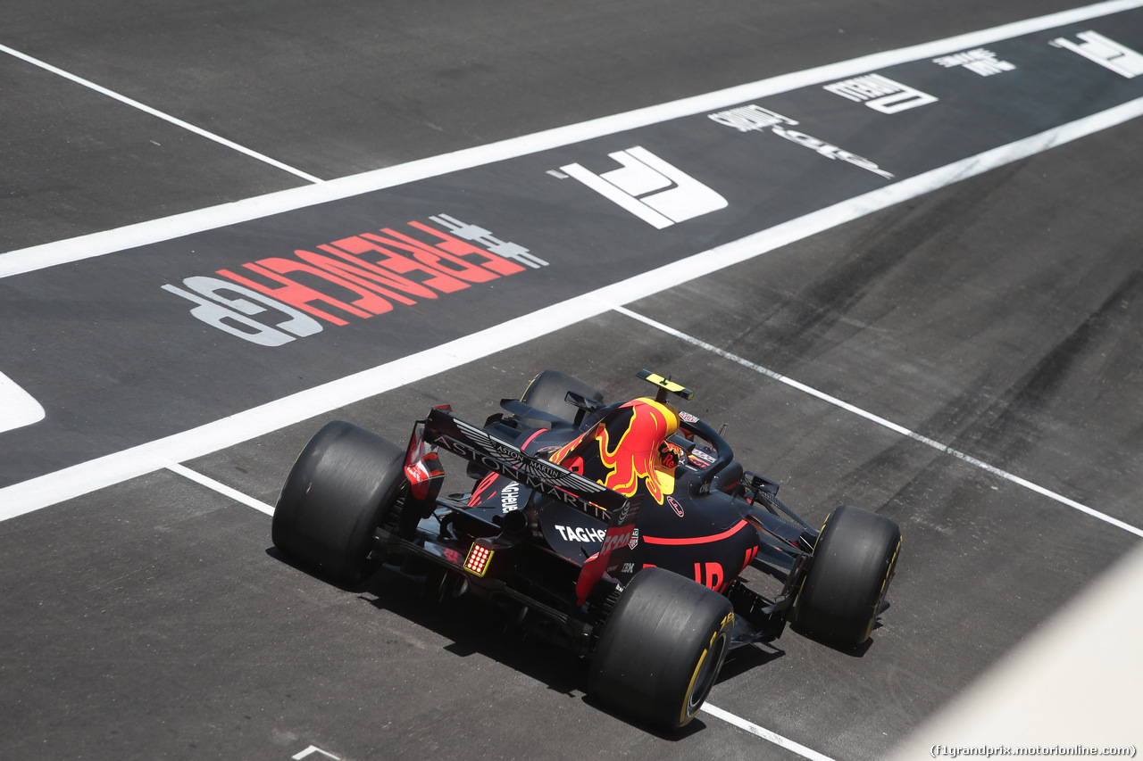 GP FRANCIA, 22.06.2018- Prove Libere 1, Max Verstappen (NED) Red Bull Racing RB14