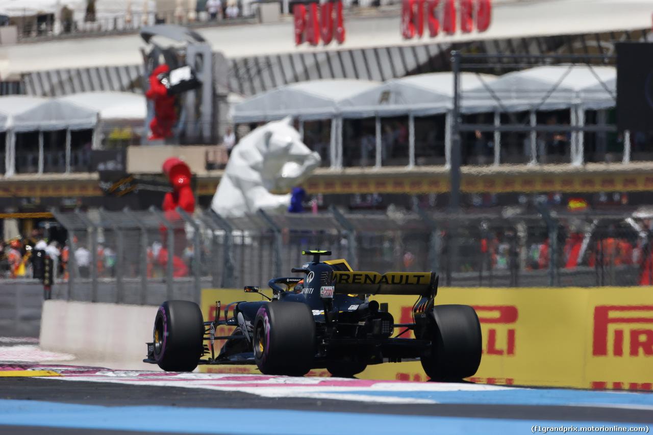 GP FRANCIA, 22.06.2018- Prove Libere 1, Carlos Sainz Jr (ESP) Renault Sport F1 Team RS18