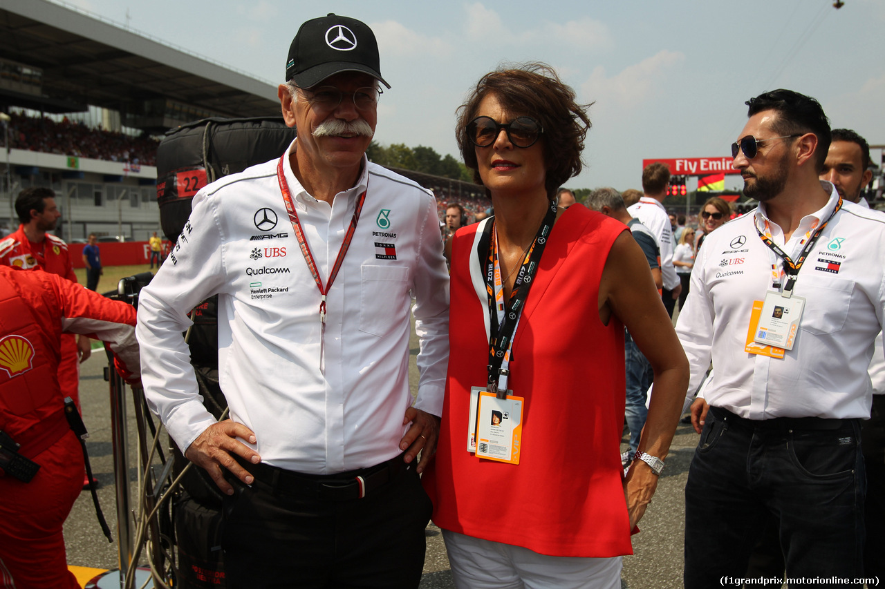 GP GERMANIA, 22.07.2018 - Gara, Dr. Dieter Zetsche, Chairman of Daimler