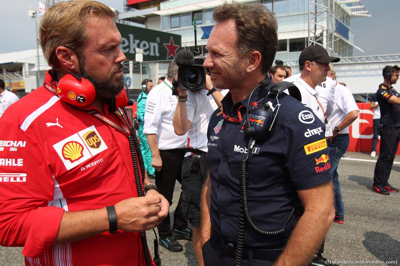 GP GERMANIA, 22.07.2018 - Gara, Christian Horner (GBR), Red Bull Racing, Sporting Director