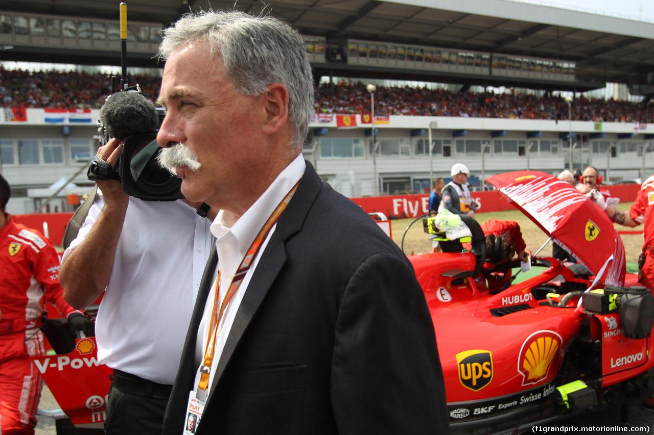 GP GERMANIA, 22.07.2018 - Gara, Chase Carey (USA) Formula One Group Chairman