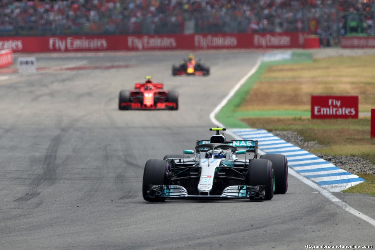 GP GERMANIA, 22.07.2018 - Gara, Valtteri Bottas (FIN) Mercedes AMG F1 W09