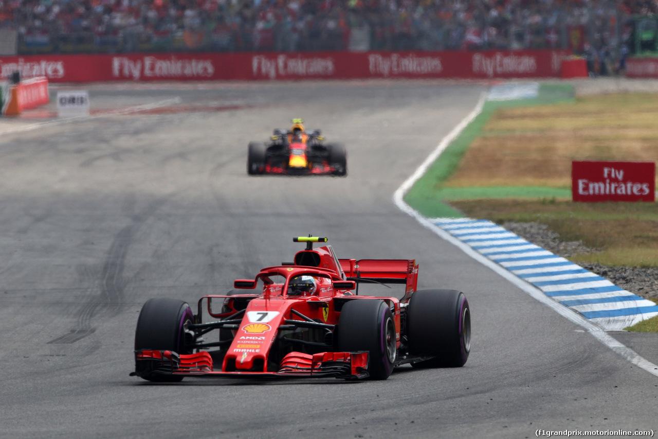 GP GERMANIA, 22.07.2018 - Gara, Kimi Raikkonen (FIN) Ferrari SF71H