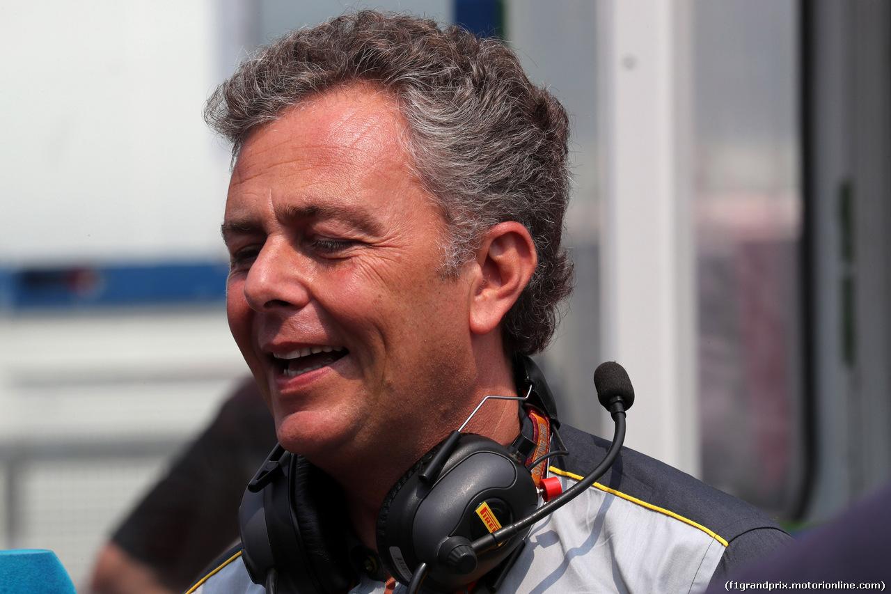 GP GERMANIA, 22.07.2018 - Gara, Mario Isola (ITA), Pirelli Racing Manager