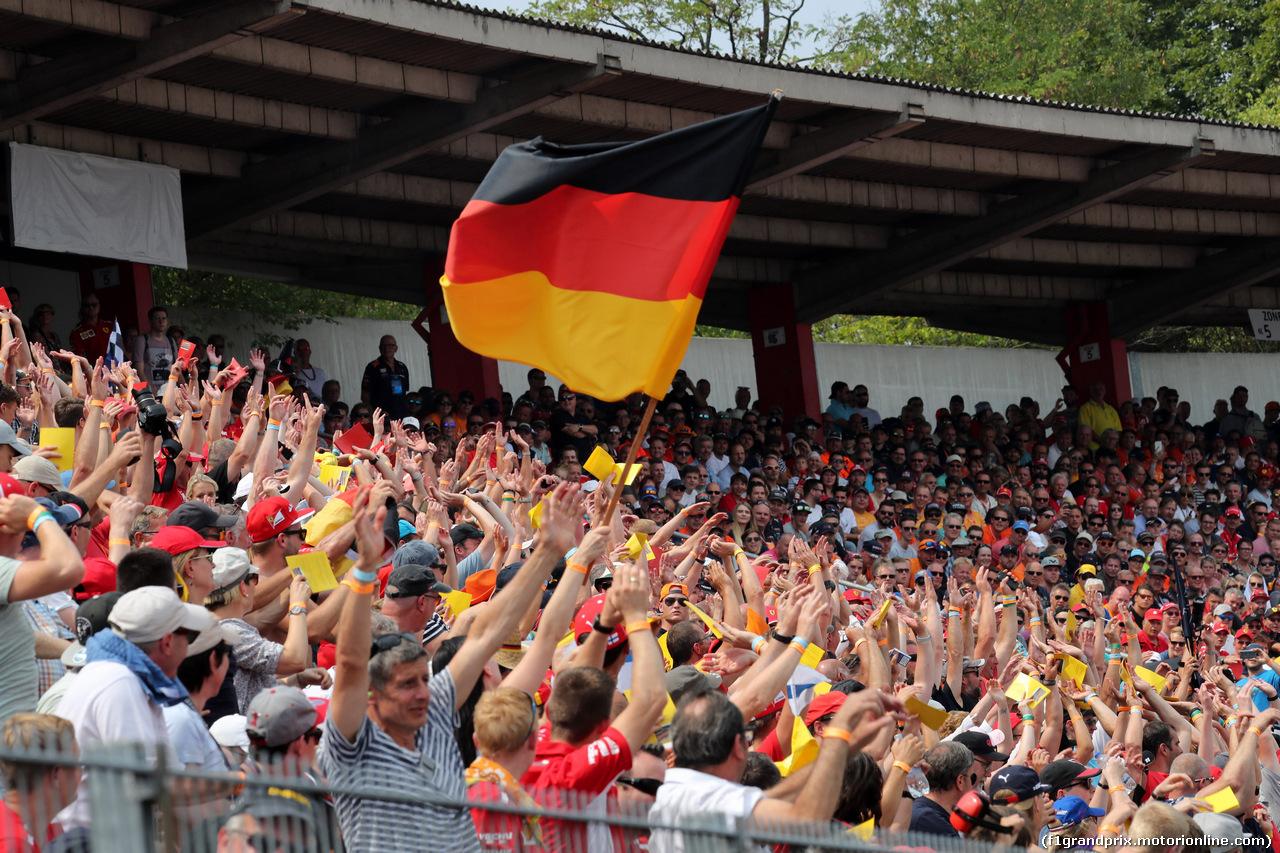 GP GERMANIA, 22.07.2018 - Gara, Fans