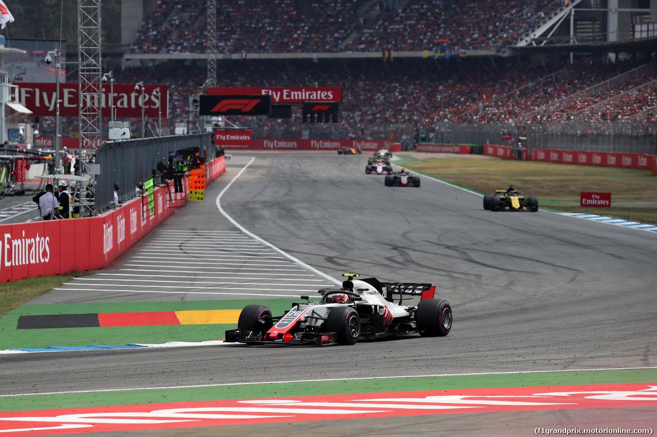 GP GERMANIA, 22.07.2018 - Gara, Kevin Magnussen (DEN) Haas F1 Team VF-18