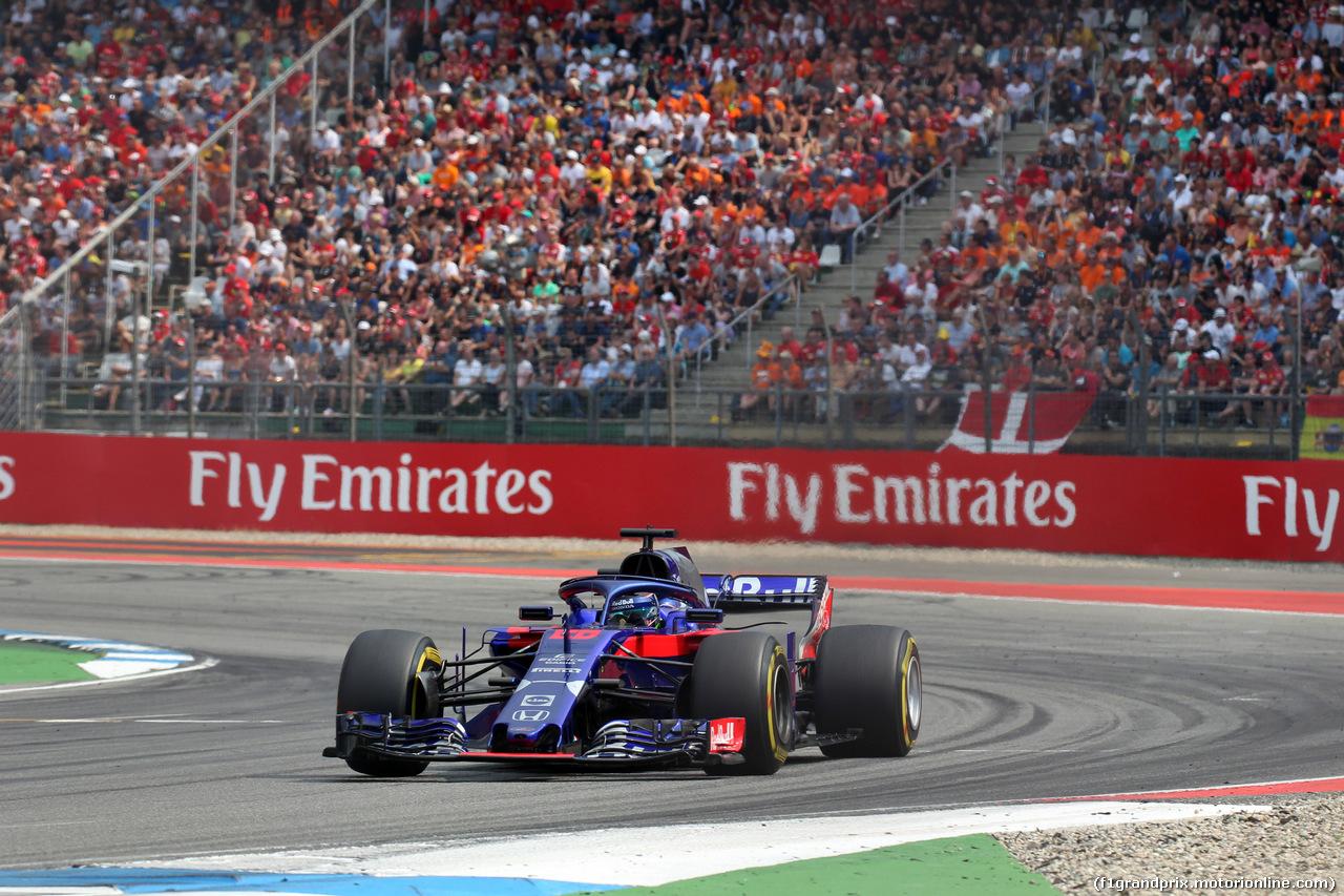 GP GERMANIA, 22.07.2018 - Gara, Brendon Hartley (NZL) Scuderia Toro Rosso STR13