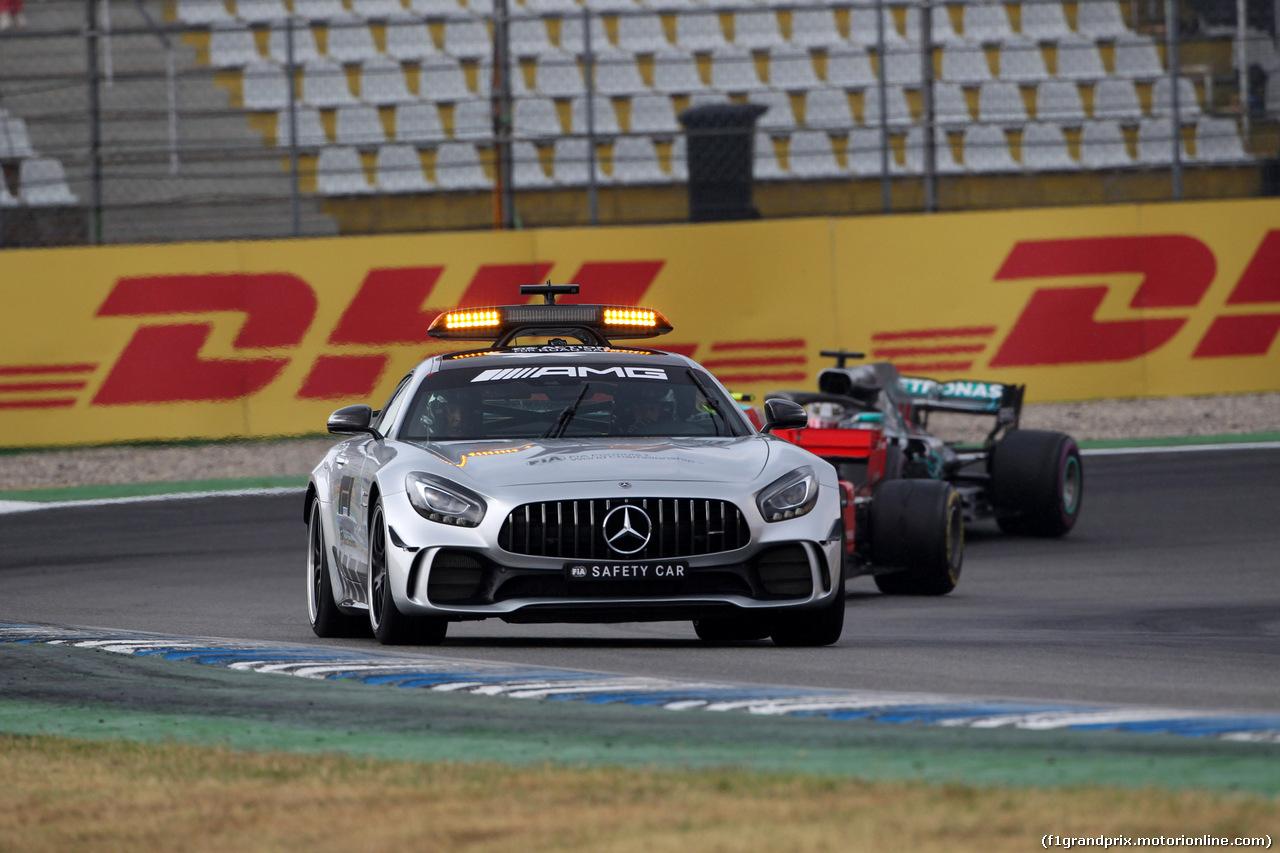 GP GERMANIA, 22.07.2018 - Gara, Safety car