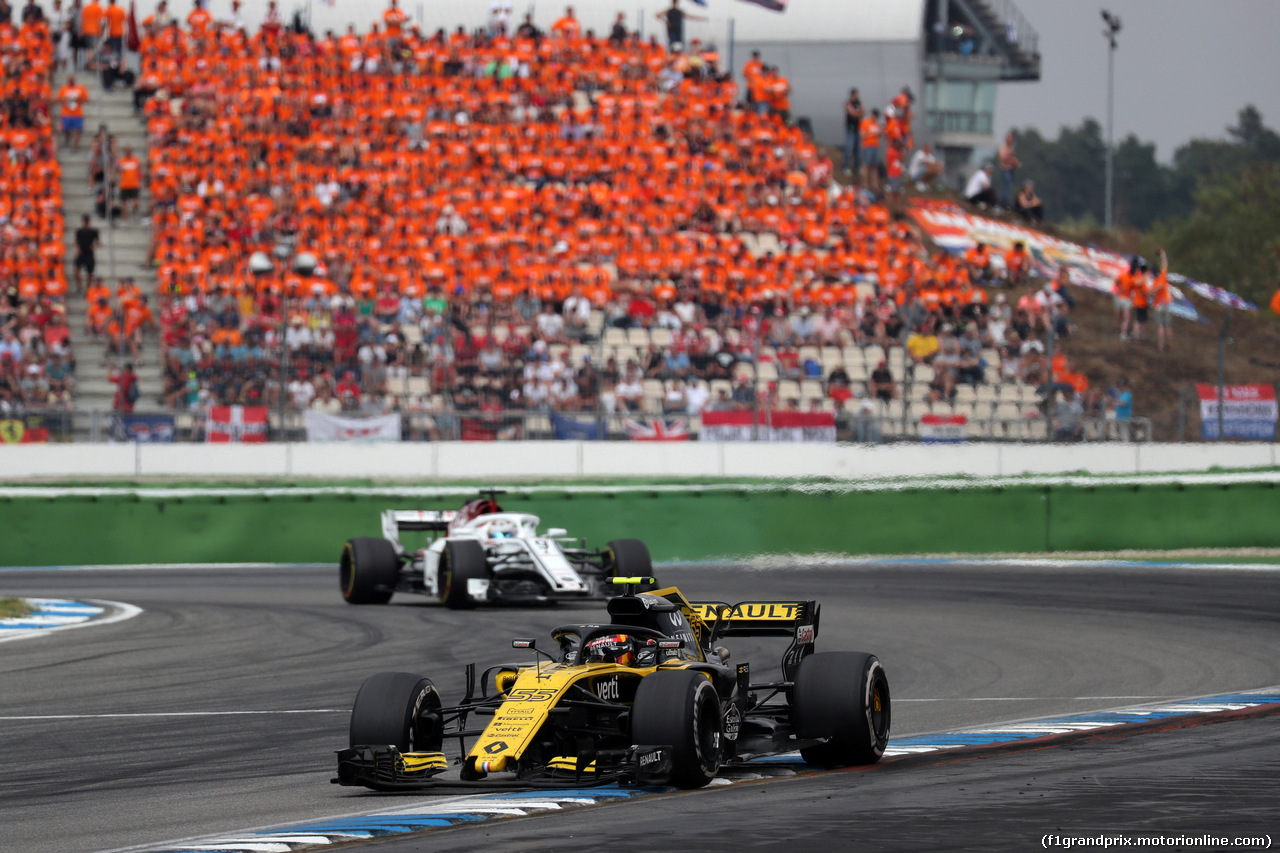 GP GERMANIA, 22.07.2018 - Gara, Carlos Sainz Jr (ESP) Renault Sport F1 Team RS18