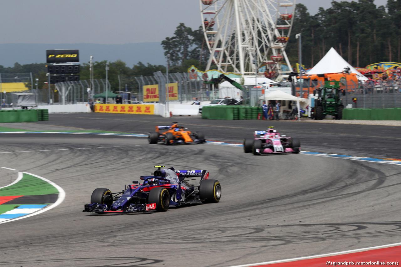 GP GERMANIA, 22.07.2018 - Gara, Pierre Gasly (FRA) Scuderia Toro Rosso STR13
