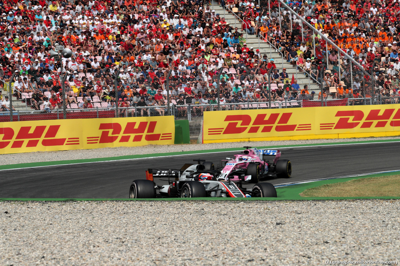 GP GERMANIA, 22.07.2018 - Gara, Romain Grosjean (FRA) Haas F1 Team VF-18