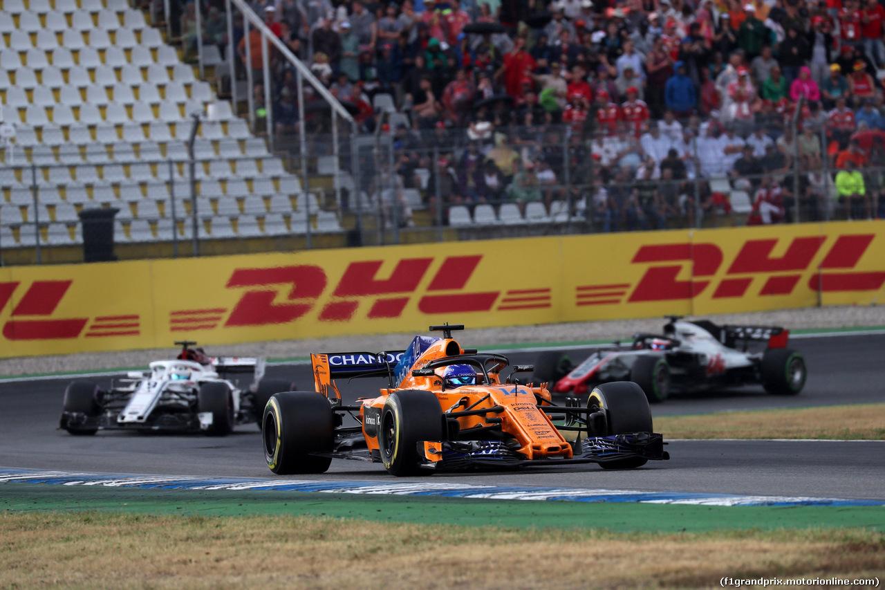 GP GERMANIA, 22.07.2018 - Gara, Fernando Alonso (ESP) McLaren MCL33