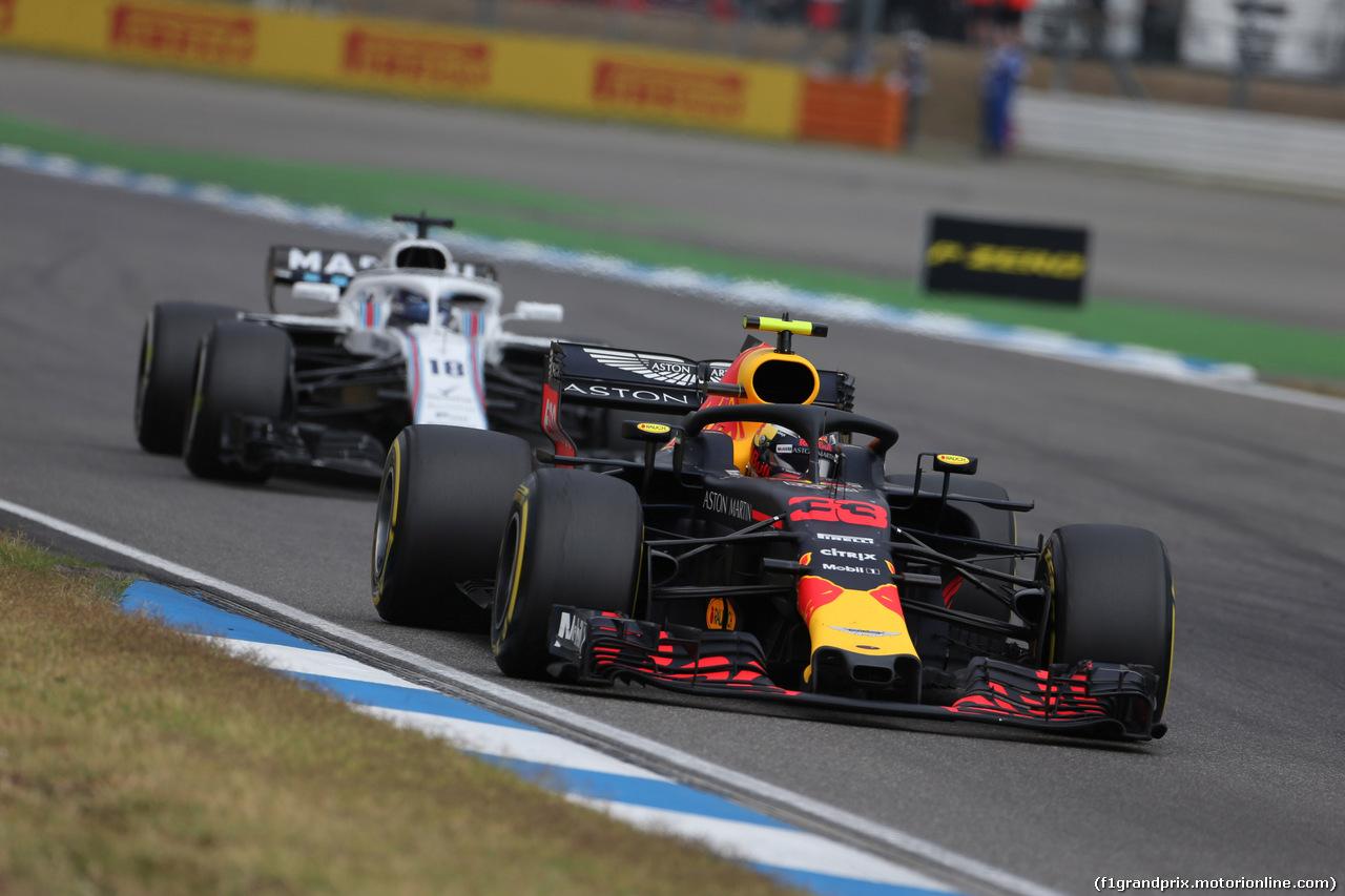 GP GERMANIA, 22.07.2018 - Gara, Max Verstappen (NED) Red Bull Racing RB14