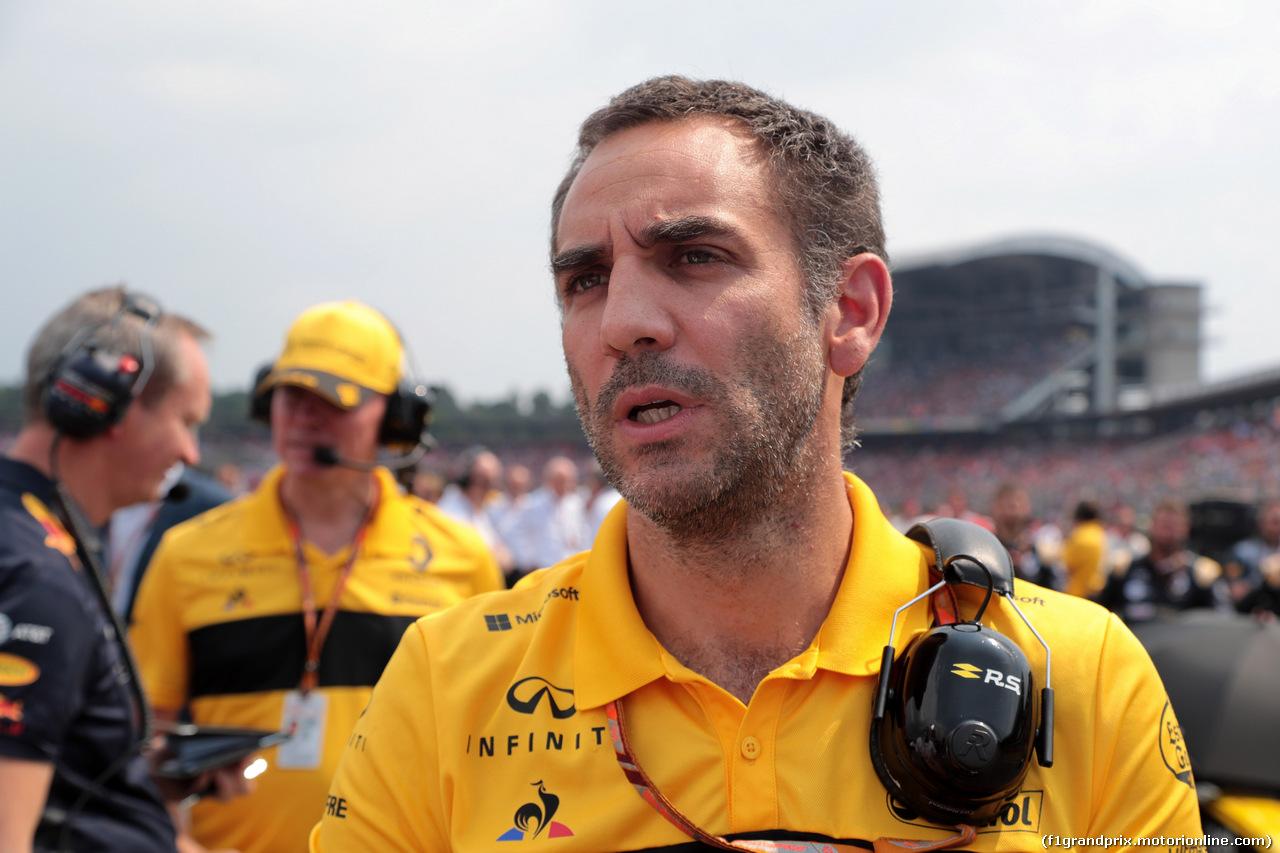 GP GERMANIA, 22.07.2018 - Gara, Cyril Abiteboul (FRA) Renault Sport F1 Managing Director