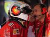 GP GERMANIA, 22.07.2018 - Gara, Sebastian Vettel (GER) Ferrari SF71H e Riccardo Adami (ITA) Ferrari Gara Engineer