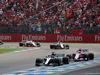 GP GERMANIA, 22.07.2018 - Gara, Lewis Hamilton (GBR) Mercedes AMG F1 W09 e Esteban Ocon (FRA) Sahara Force India F1 VJM11