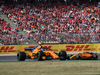 GP GERMANIA, 22.07.2018 - Gara, Fernando Alonso (ESP) McLaren MCL33 e Stoffel Vandoorne (BEL) McLaren MCL33