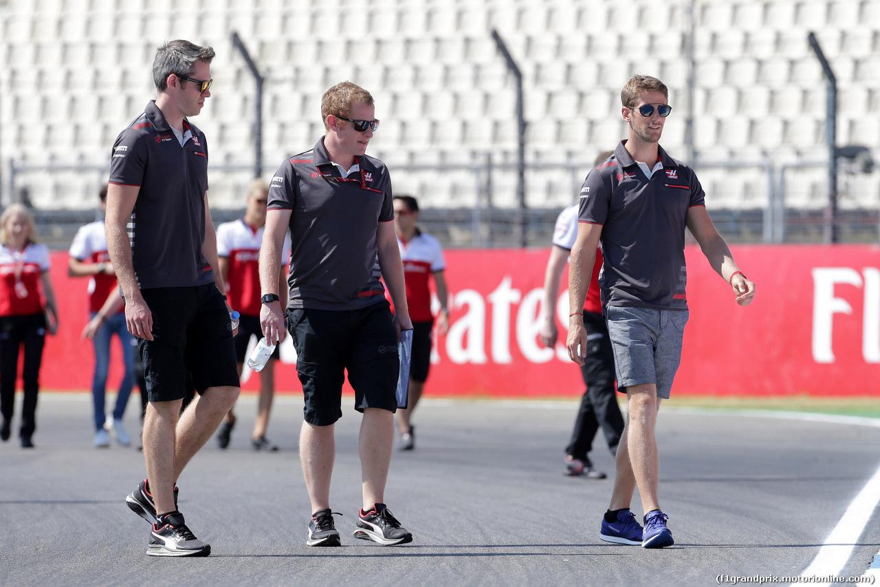 GP GERMANIA, 19.07.2018 - Romain Grosjean (FRA) Haas F1 Team VF-18