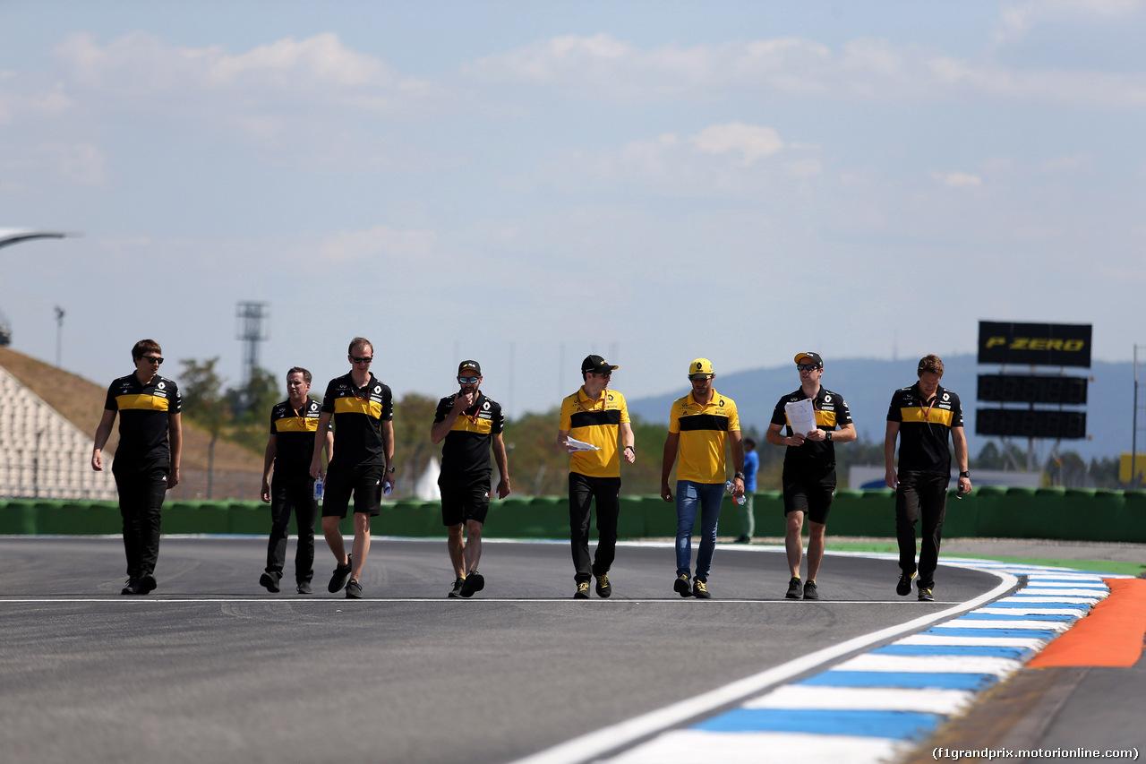 GP GERMANIA, 19.07.2018 - Carlos Sainz Jr (ESP) Renault Sport F1 Team RS18