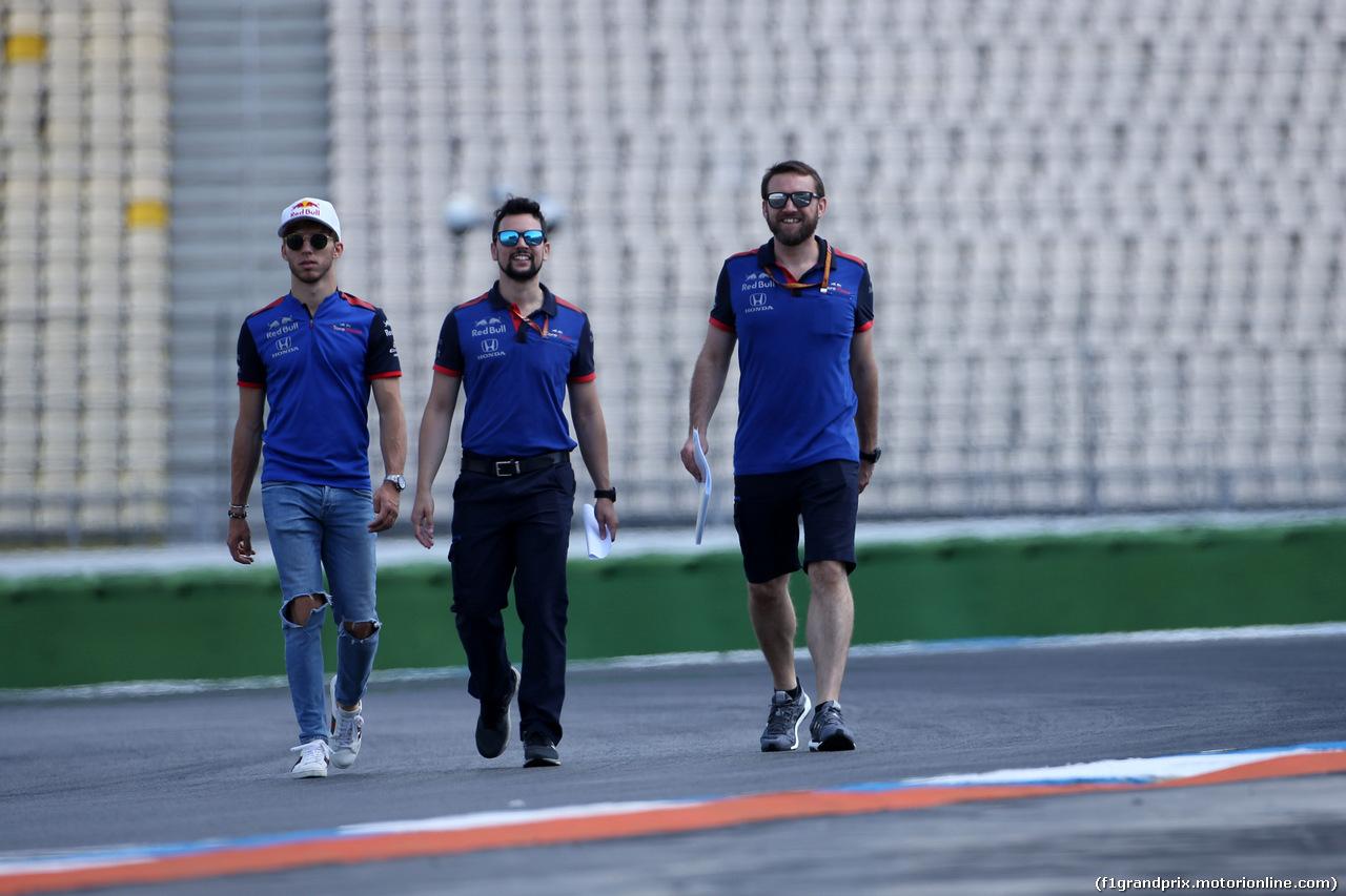 GP GERMANIA, 19.07.2018 - Pierre Gasly (FRA) Scuderia Toro Rosso STR13