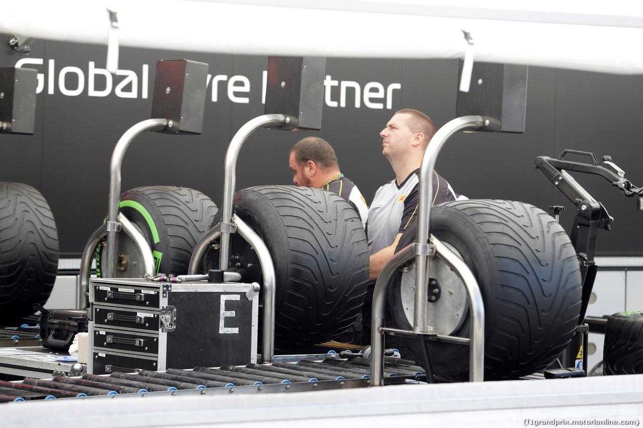 GP GERMANIA, 19.07.2018 - Pirelli Tyres
