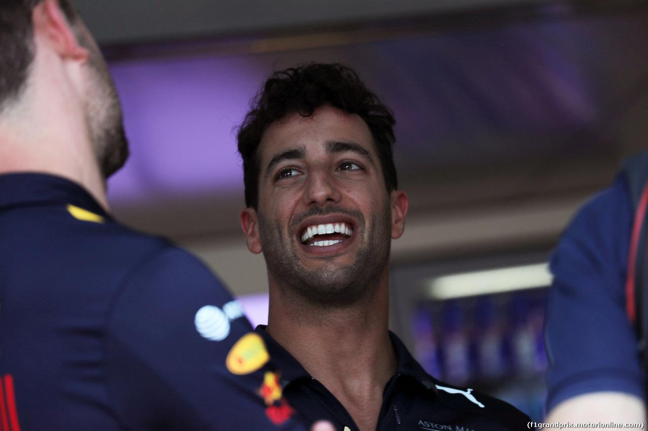GP GERMANIA, 19.07.2018 - Daniel Ricciardo (AUS) Red Bull Racing RB14
