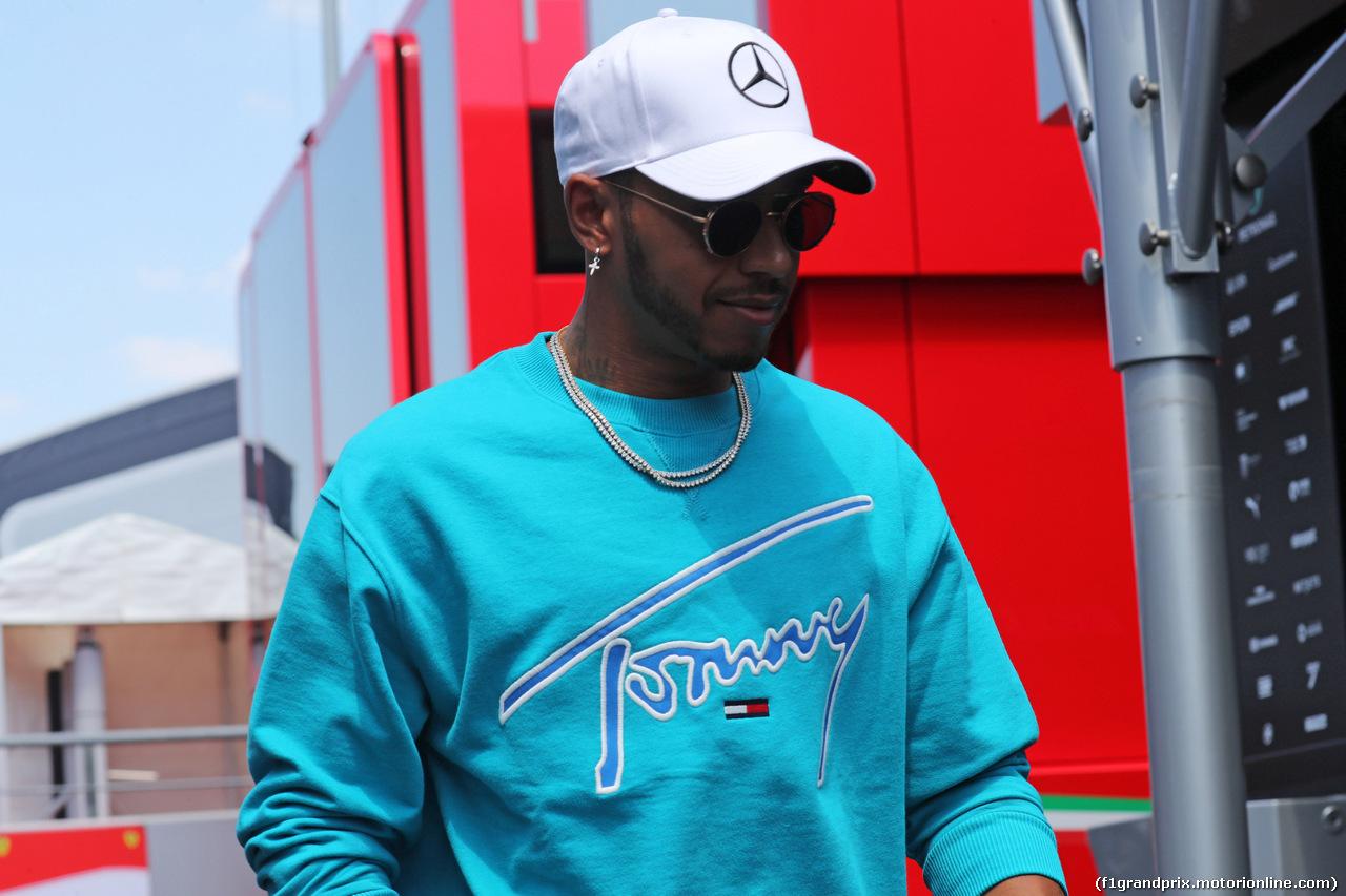 GP GERMANIA, 19.07.2018 - Lewis Hamilton (GBR) Mercedes AMG F1 W09