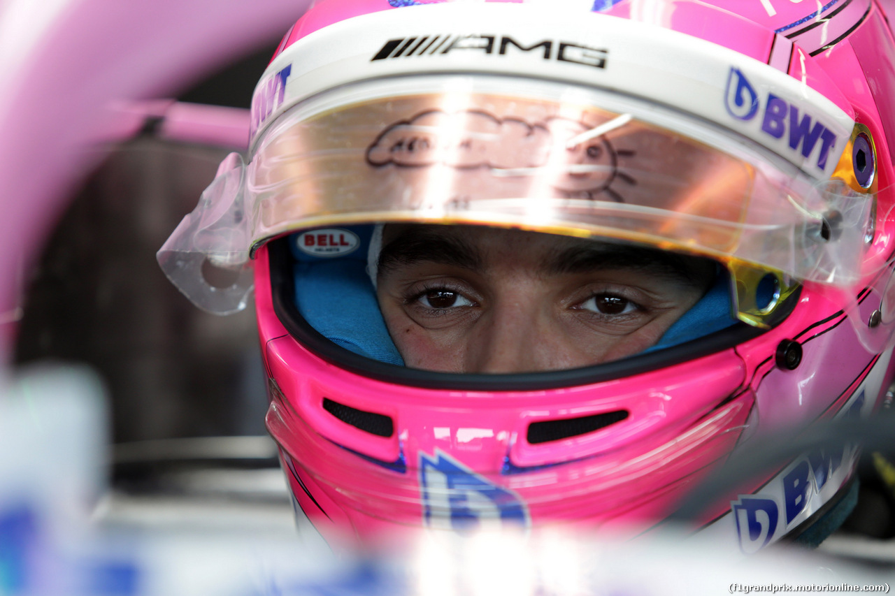 GP GERMANIA, 19.07.2018 - Esteban Ocon (FRA) Sahara Force India F1 VJM11