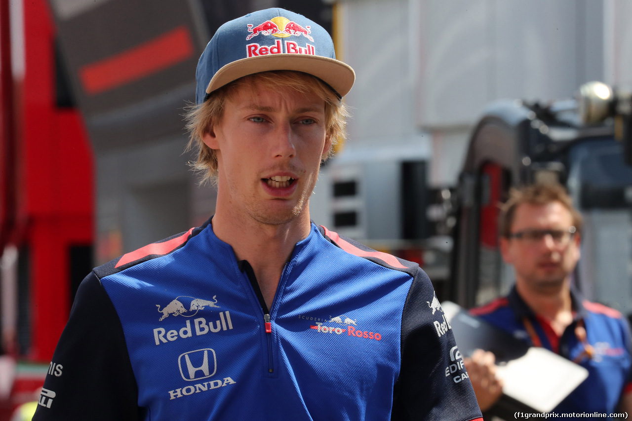 GP GERMANIA, 19.07.2018 - Brendon Hartley (NZL) Scuderia Toro Rosso STR13