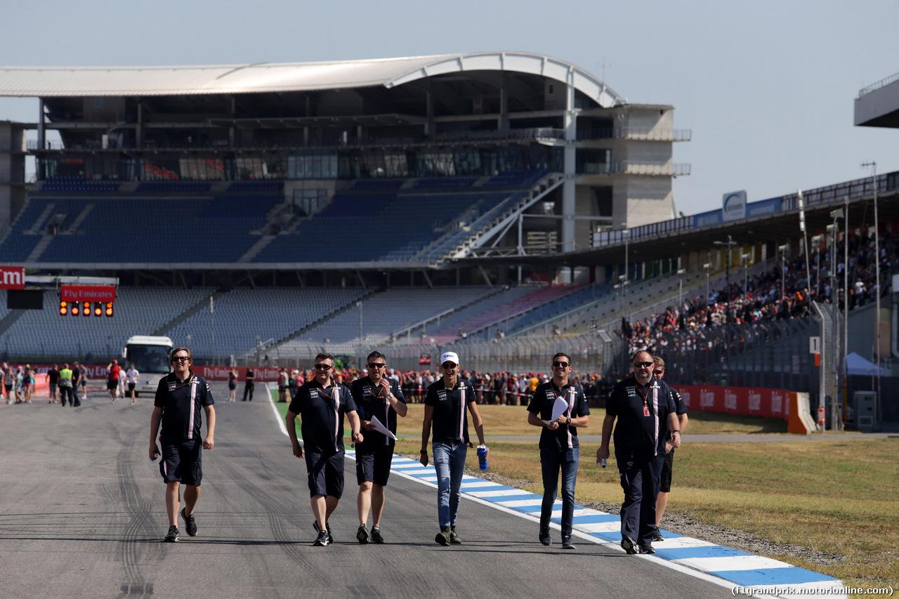 GP GERMANIA, 19.07.2018 - Esteban Ocon (FRA) Sahara Force India F1 VJM11