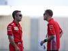 GP GERMANIA, 19.07.2018 - Iñaki Rueda (ESP) Ferrari Strategy e Sebastian Vettel (GER) Ferrari SF71H