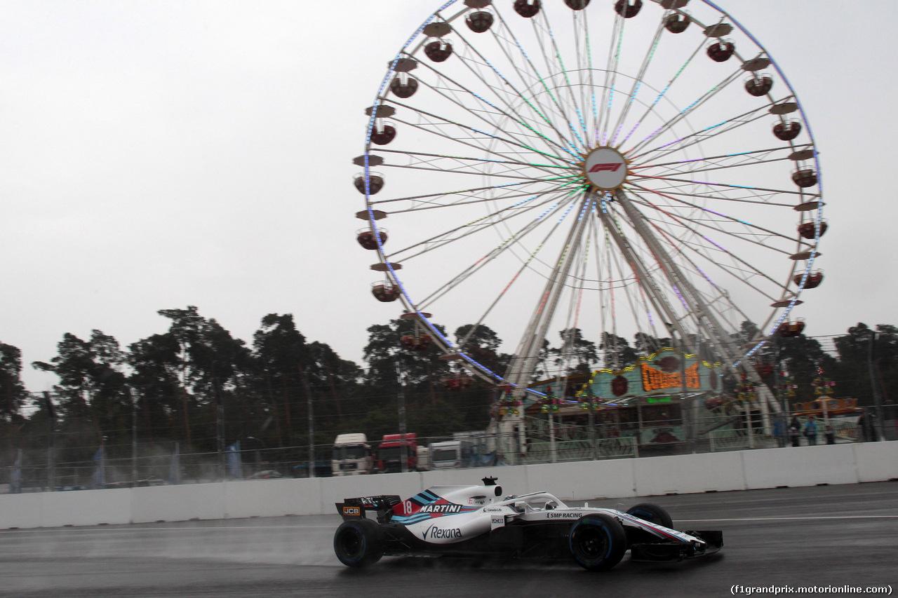 GP GERMANIA, 21.07.2018 - Prove Libere 2, Lance Stroll (CDN) Williams FW41