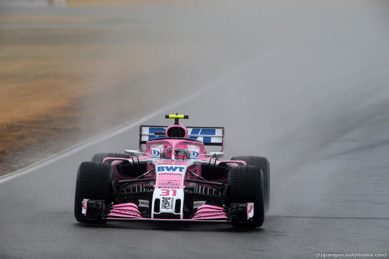 GP GERMANIA, 21.07.2018 - Prove Libere 2, Esteban Ocon (FRA) Sahara Force India F1 VJM11