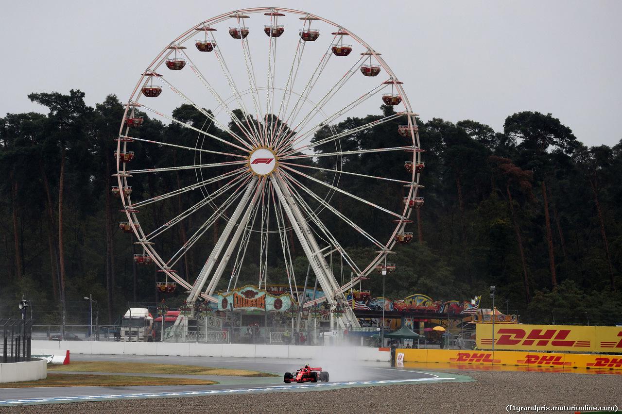 GP GERMANIA, 21.07.2018 - Prove Libere 2, Kimi Raikkonen (FIN) Ferrari SF71H