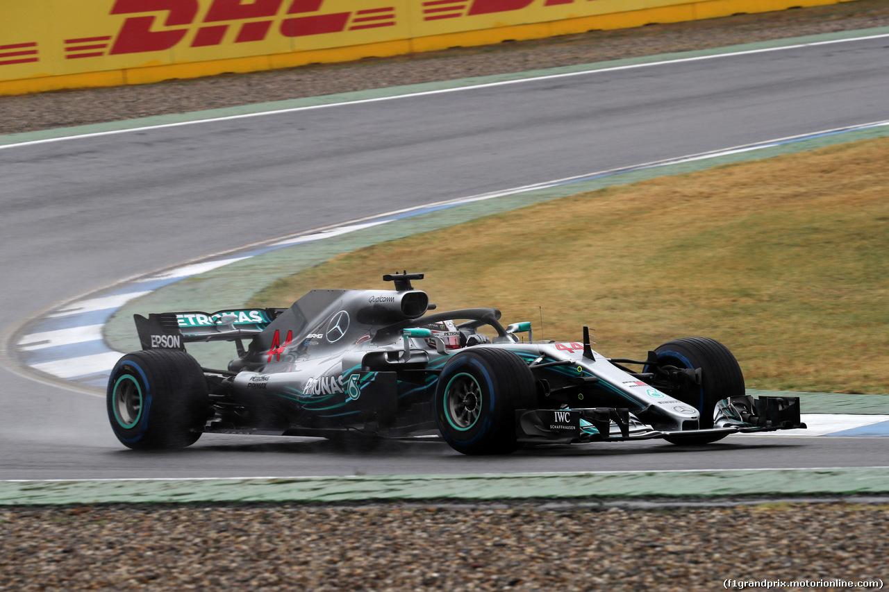 GP GERMANIA, 21.07.2018 - Prove Libere 2, Lewis Hamilton (GBR) Mercedes AMG F1 W09