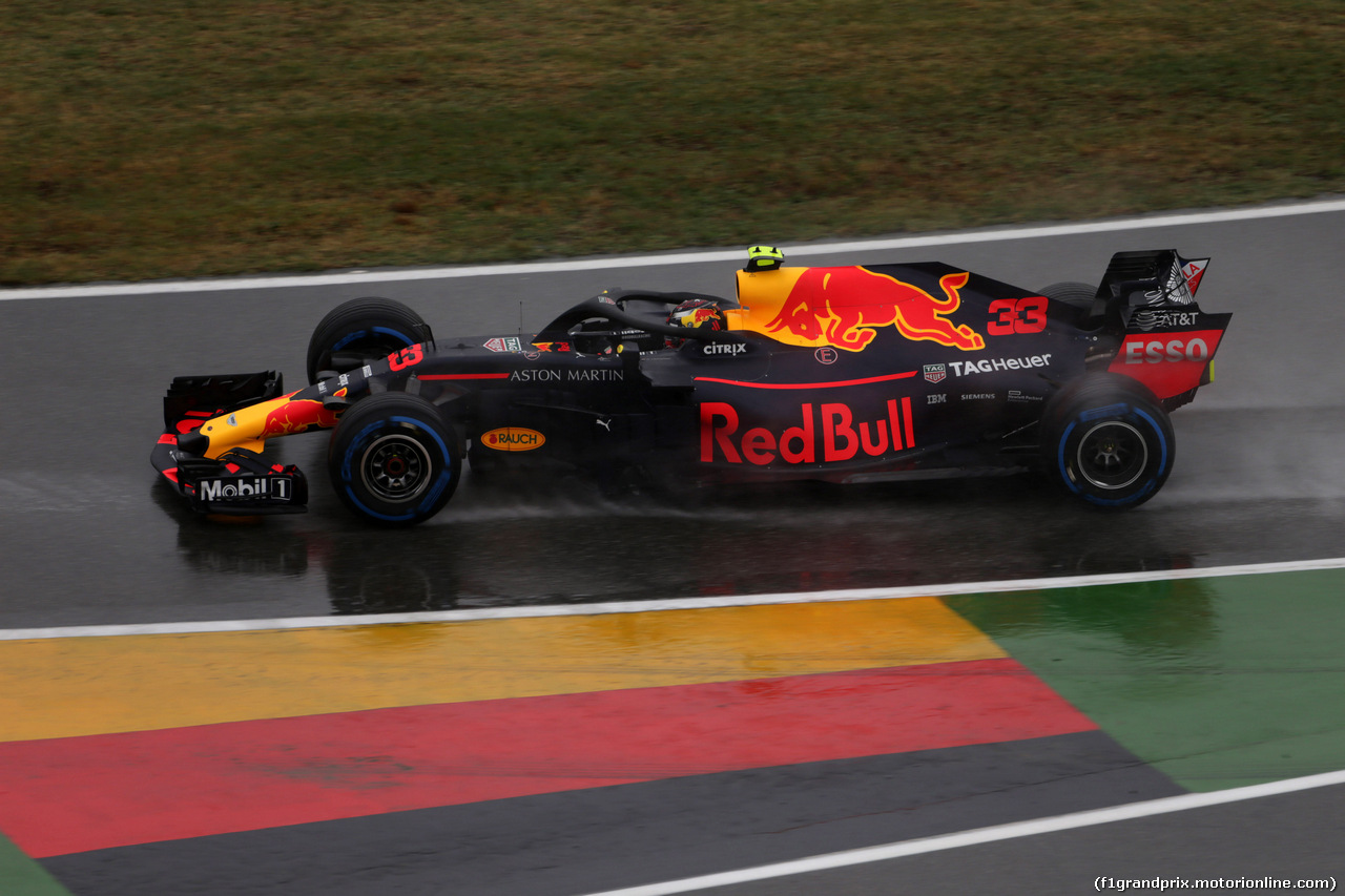 GP GERMANIA, 21.07.2018 - Prove Libere 2, Max Verstappen (NED) Red Bull Racing RB14