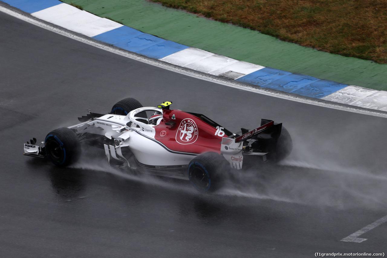 GP GERMANIA, 21.07.2018 - Prove Libere 2, Charles Leclerc (MON) Sauber C37