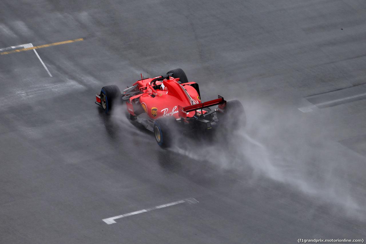 GP GERMANIA, 21.07.2018 - Prove Libere 2, Sebastian Vettel (GER) Ferrari SF71H