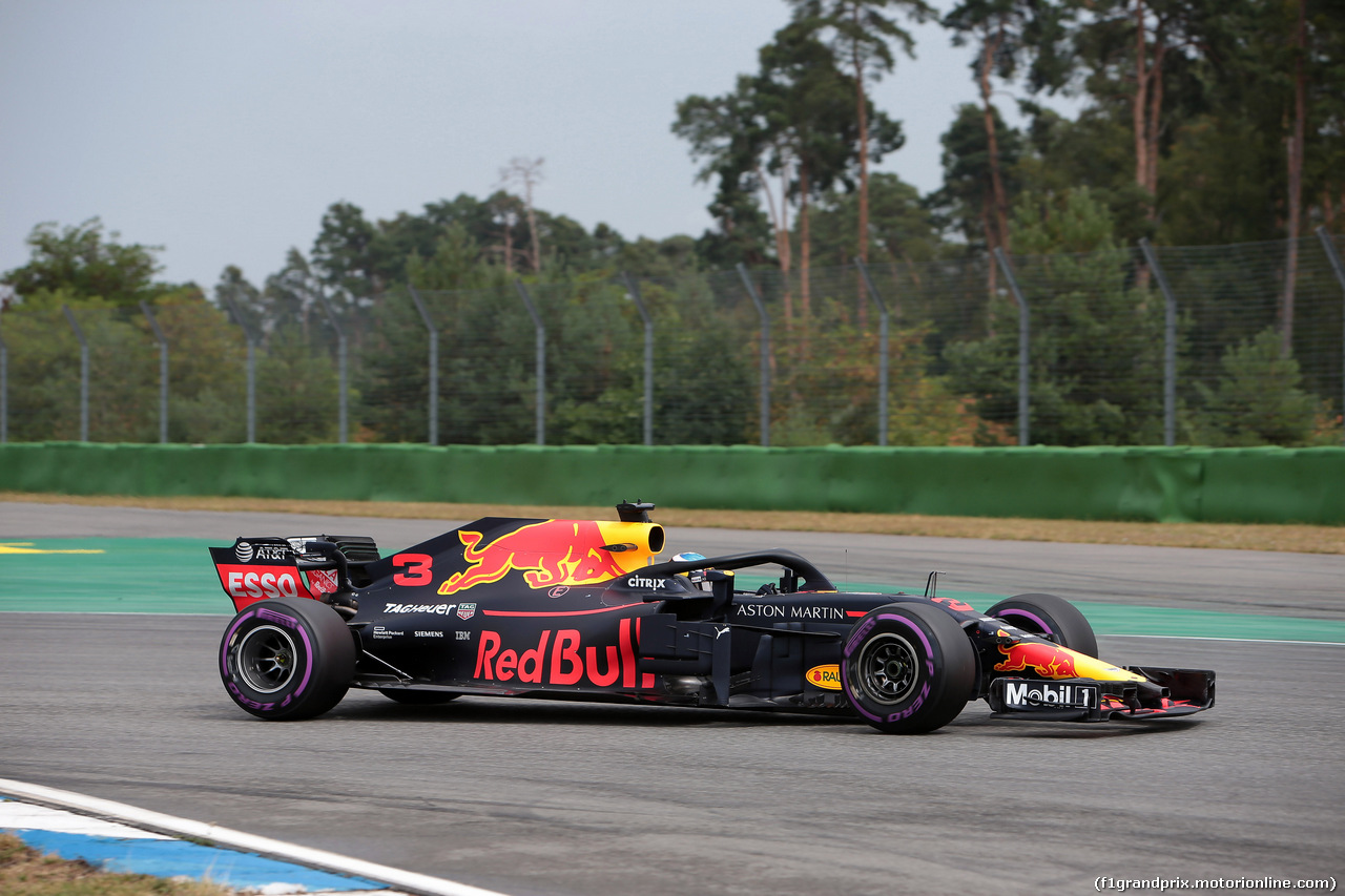 GP GERMANIA, 21.07.2018 - Qualifiche, Daniel Ricciardo (AUS) Red Bull Racing RB14