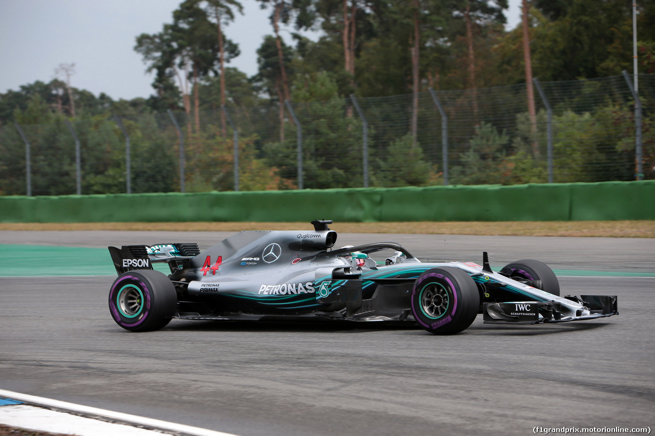 GP GERMANIA, 21.07.2018 - Qualifiche, Lewis Hamilton (GBR) Mercedes AMG F1 W09