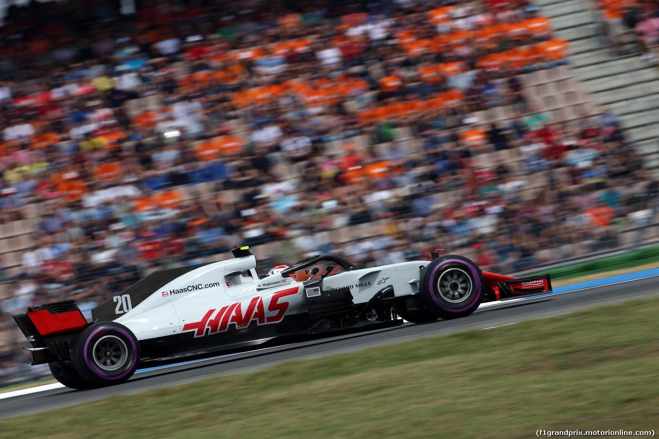 GP GERMANIA, 21.07.2018 - Qualifiche, Kevin Magnussen (DEN) Haas F1 Team VF-18